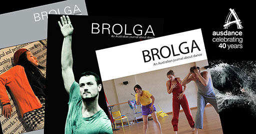 spread of Brolga cover images with Brolga 41 on top