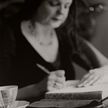 Indigo writing