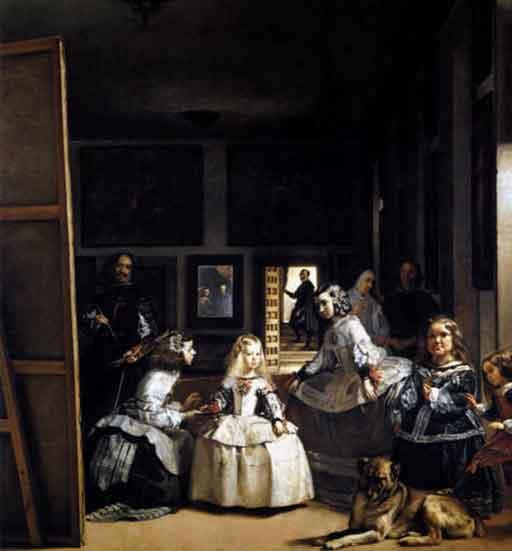 Las Meninas— a 1656 painting by Diego Velasquez