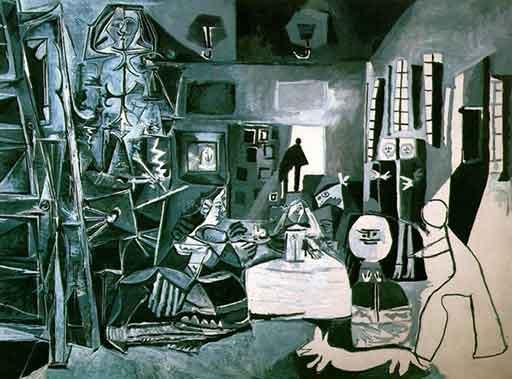 Pablo Picasso's 1957 painting Las Meninas