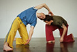 Haptics and the fall: spaces of contact improvisation