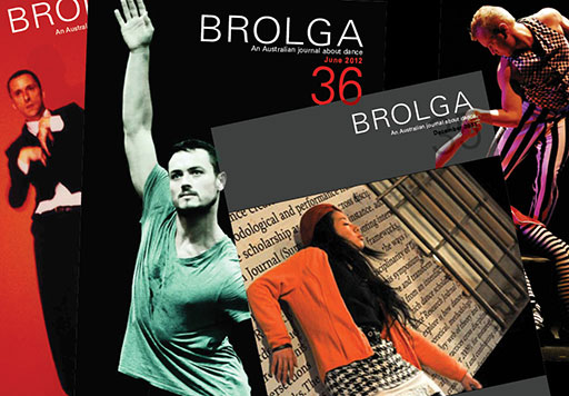 Brolga an Australian Journal about dance #36