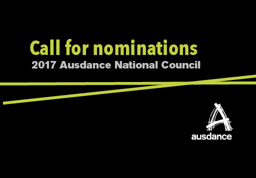 Call for nominations: 2017 Ausdance National Council