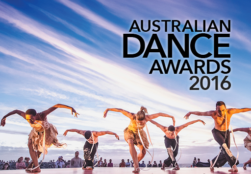 Australian Dance Awards 2016 Ochre Contemporary Dance Company performing outdoors