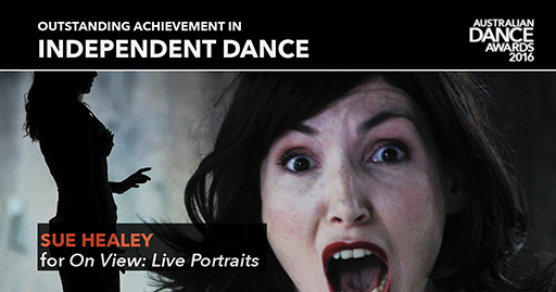 Performers in On View: Live Portraits